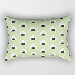 Kawaii Onigiri Rice Balls Rectangular Pillow