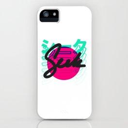 Seek Japanese/English Print iPhone Case