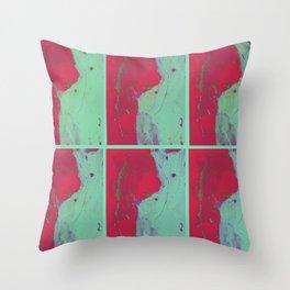 TedWarhol No.2 Throw Pillow