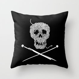 For knitters! Throw Pillow