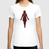 black widow T-shirts featuring Black Widow by semisweetshadow
