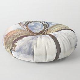 Hoosier Basketball Floor Pillow
