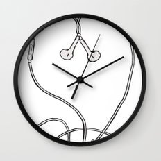 I Don't Know, I Just Love Me Some Music Wall Clock