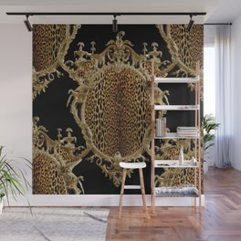 Leopard Chinoise Wall Mural
