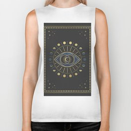 The Third Eye or The Sixth Chakra Biker Tank