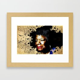 Phenomenal Woman Framed Art Print