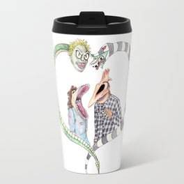 Beetle juice - Adam & Barbara Travel Mug