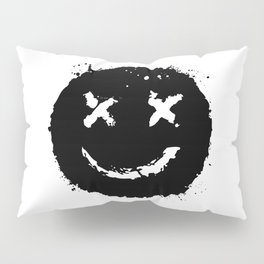 Confused Smile Pillow Sham