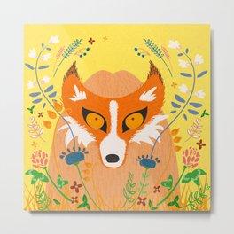 Fox Meadow Metal Print