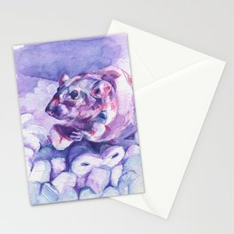 The100RatProject 002 Stationery Cards