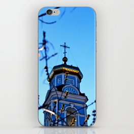 Cupolas, Church of the Ascension, Russia iPhone Skin