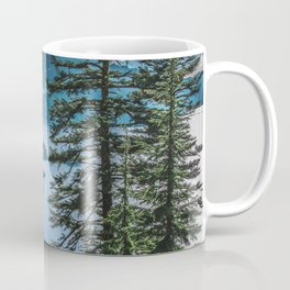 Blue Crater Lake Oregon in Summer Coffee Mug