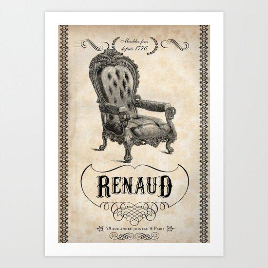 Renaud Art Print