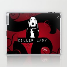 KILLER LADY LOGO ONE  Laptop & iPad Skin