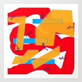 BLOO Art Print