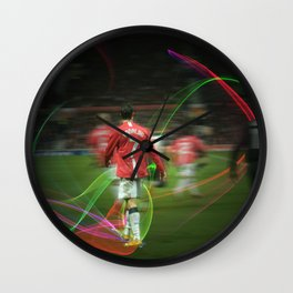 Ronaldo Remix Wall Clock