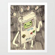 Game BMO Art Print