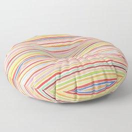 Robayre Watercolor Lines Floor Pillow