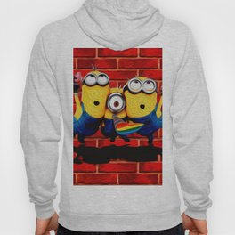 Minion Wallpaper Hoody