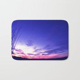 Big Sky Sunset Bath Mat