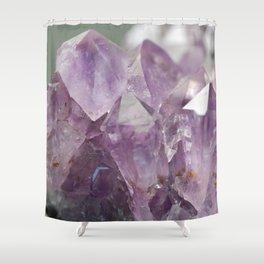 Amethyst 1 Shower Curtain