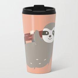 Sloth card - hello beautiful Travel Mug