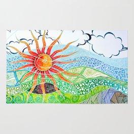 Sunny sunlight Rug