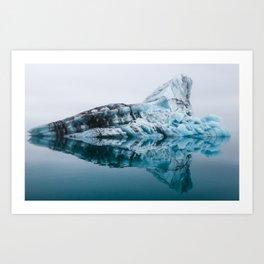 Jökulsárlón Glacier Lagoon Art Print