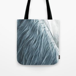 Horse mane photography, fine art print n°1, wild nature, still life, landscape, freedom Tote Bag