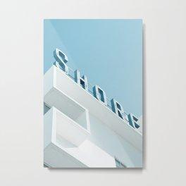Art Deco Miami Beach #1 Metal Print