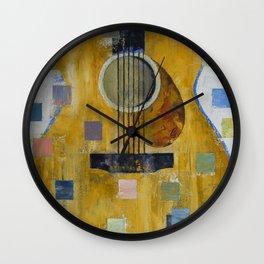 King of Guitars Wall Clock