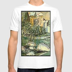 The Gardeners House MEDIUM White Mens Fitted Tee