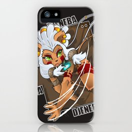 Chibi Djeneba iPhone Case