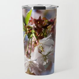 springtime! ... under the cherry tree 02 Travel Mug