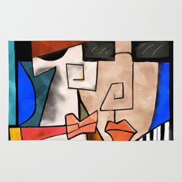Abstract Musicians Rug