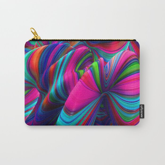 Abstract Pop Carry-All Pouch