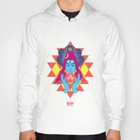 om Hoodies featuring Om by RJ Artworks