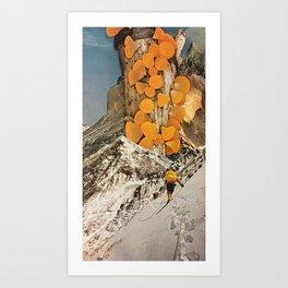 Pillar of Captured Sunlight Art Print