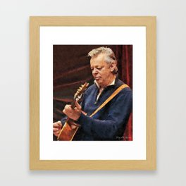 Great Guitarists - Tommy Emmanuel CGP Framed Art Print