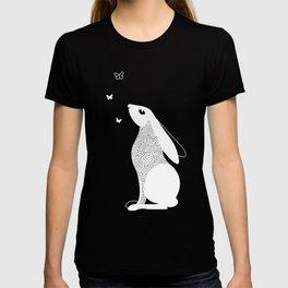 Rabbit and Butterfly Spirit Animal T-shirt