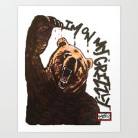 LIMTED EDITION * Grizzly Art Print