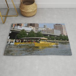 Pittsburgh Tour Series - Ducky Tour Boat Rug