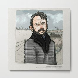 Lorne Malvo, Billy Bob Thornton at Fargo series Metal Print