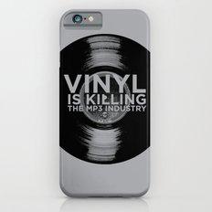 Vinyl is Killing the MP3 Industry Slim Case iPhone 6
