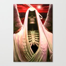 The Angel of Death. Canvas Print
