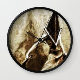 Silent Hill Pyramid Head Wall Clock