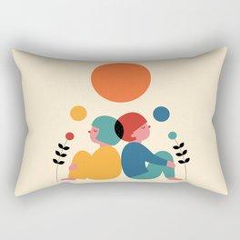 Miss you Rectangular Pillow