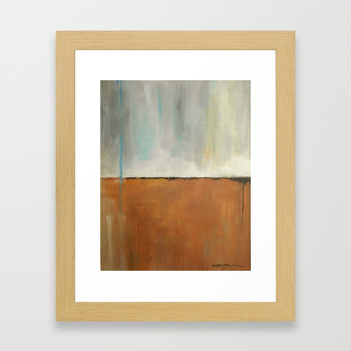 On Solid Ground Framed Art Print