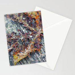 Colourful Leaf Stationery Cards