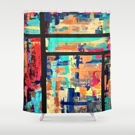 Arabian Window Shower Curtain